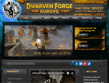 Tablet Preview of dwarvenforge.eu